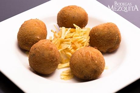 Las famosas croquetas de boletus de la Taberna Ziryab