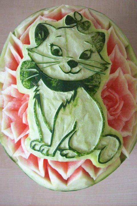 El Arte Mukimono O Decoración De Frutas Y Verduras Bodegas