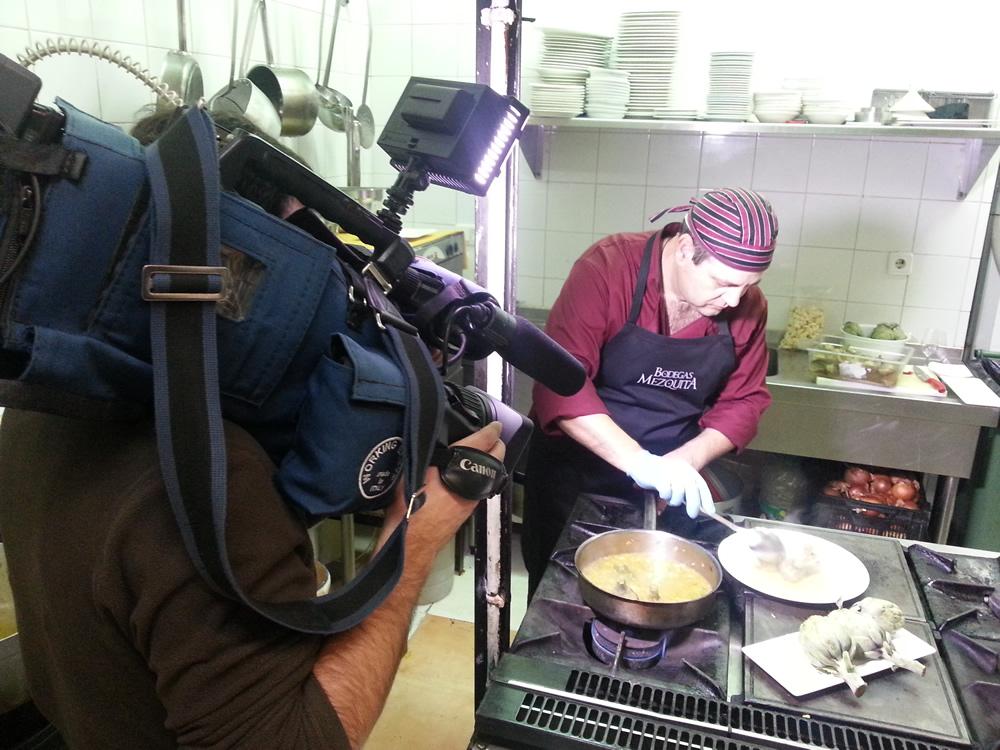 Un Día En La Cocina De Bodegas Mezquita Bodegas Mezquita