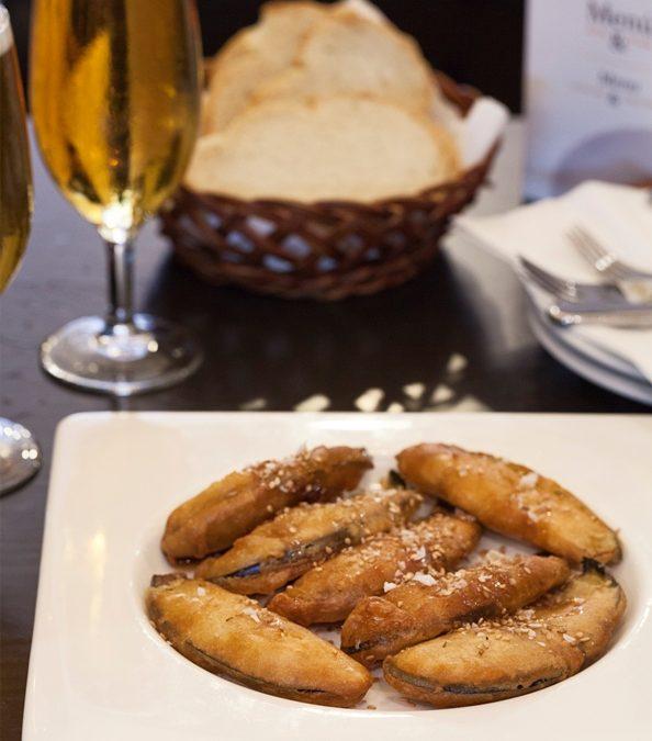 Receta: Berenjenas Califales Rebozadas con reducción de Pedro Ximénez, un plato típico Cordobés