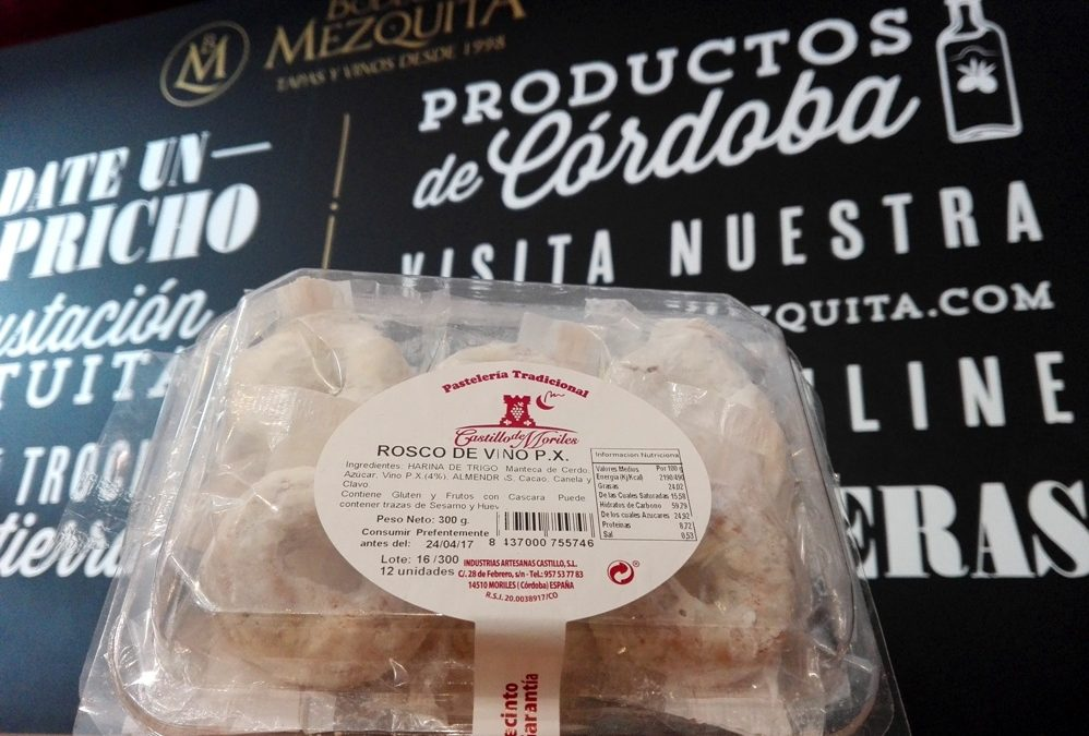 Roscos de vino Pedro Ximénez