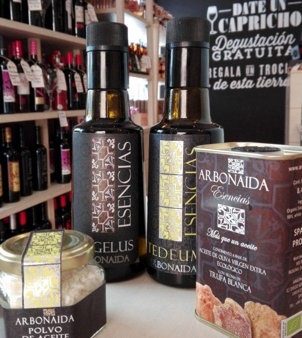 Aceites Arbonaida, la innovación gastronómica convertida en un placer para los sentidos