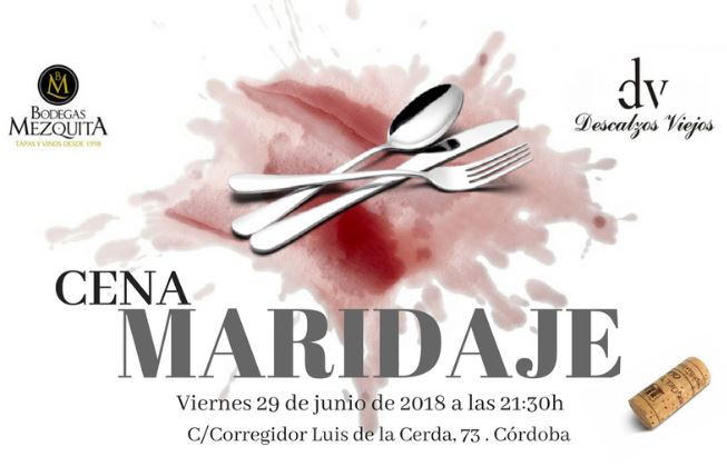 Cena – Maridaje en Bodegas Mezquita Corregidor.