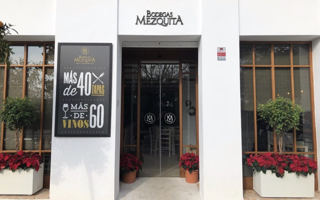 Nuevo restaurante Bodegas Mezquita Ribera